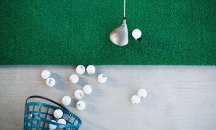One Hour of Unlimited Range Balls for One or Two at Highland Park Field House (Up to 52% Off)