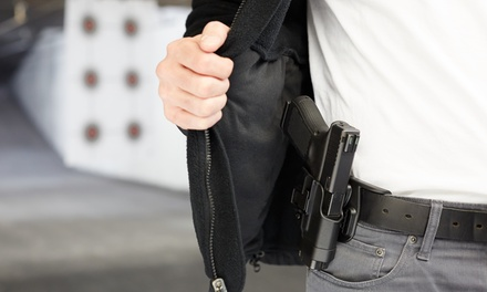 North Carolina Concealed-Carry Class for One or Two at Arm Yourself Training (Up to 51% Off)