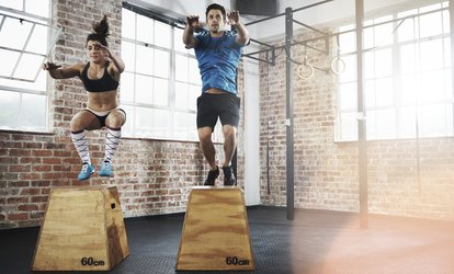 One-Month Unlimited Classes for One or Two at <strong>Crossfit</strong> 2A (Up to 72% Off)