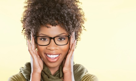 $49 for an Eye Exam and 50% Off Complete Pair of Glasses at Mercy Eye Care (Up to $285 Value)