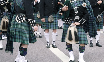 Admission for Two or Four to Texas Scottish Festival & Highland Games on May 10 or 12, 2019 (Up to 58% Off)