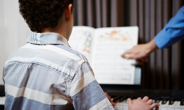 Capital Music Center - Brentwood: Kids' Piano or Drum Camp at Capital Music Center (Up to 53% Off). 25 Options Available.