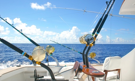 $259 for a Four-Hour Fishing Charter Trip for Up to Four People from Flip Flop Outdoors ($600 Value)