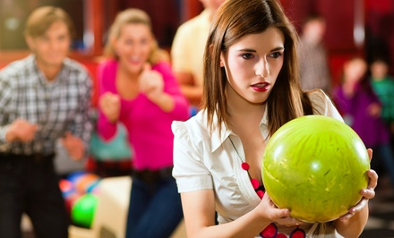 $36 for Two Hours of Bowling for Up to Six with Shoes, Pizza, and Drinks (Up to $75 Value)