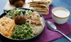 Arabia Middle Eastern Cuisine - Downtown Edmonton: Food and Drinks at Arabia Middle Eastern Cuisine (40% Off). Two Options Available.