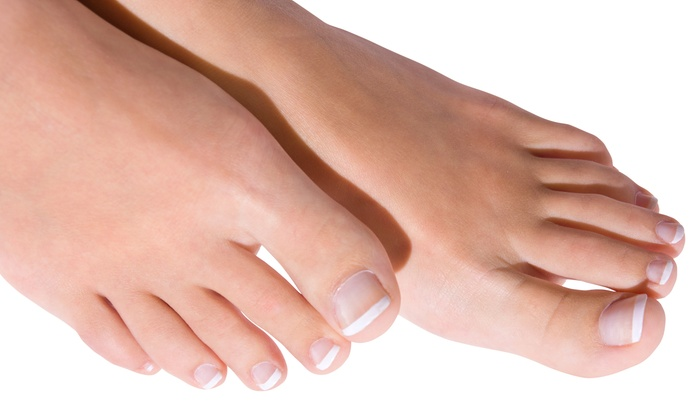 Ruba Bar Laser - Downtown Vancouver: Laser Nail-Fungus Removal for One or Both Feet at Ruba Bar Laser (Up to 80% Off)