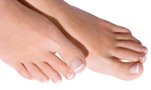 Crawford Podiatry & Aesthetics: Laser Nail-Fungus Treatment on Up to 5 or 10 Nails at Crawford Podiatry & Aesthetics (Up to 63% Off)