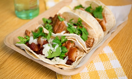 Three Groupons, Each Good for $10 Worth of Dine-In or Take-Out from Chile Jalapeño Taqueria (50% Off)
