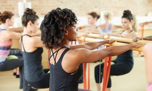 Barre Chic: Five or Ten Barre, Yoga or Fitness Classes at Barre Chic (Up to 42% Off)