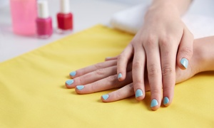 Regal Nails Salon And Spa Manukau: Deluxe Manicure ($16) + Gel Colour or Shellac ($28) at Regal Nails Salon And Spa Manukau (Up to $45 Value)