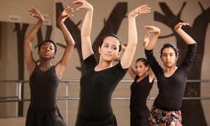 Aim Studios: Eight-Week Kids' Tumbling or Dance Program at Aim Studios (Up to 78% Off). Three Options Available.