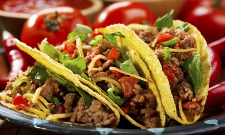 $18 for Five Groupons, Each Good for $6 Worth of Mexican Food at El Fuego Mexican Grill ($30 Total Value)