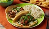 Up to 40% Off at Mi Sazon Mexican Grill