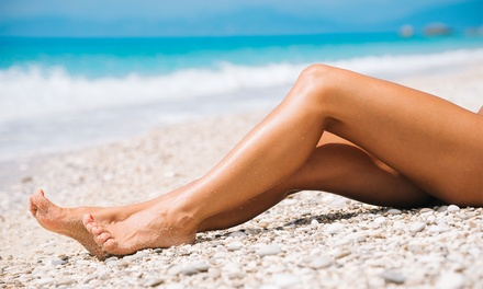 Hollywood or Brazilian Wax with Optional Underarm and HalfLeg Wax at The Beauty Clinic