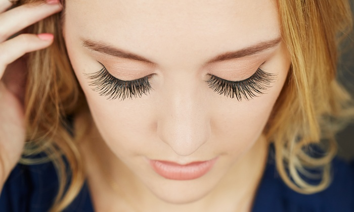 House of beauty** - Tarzana: Full Set of Eyelash Extensions with Optional Fill-In (Up to 53%  Off)
