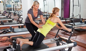 One Aum: One or Three Private Pilates Classes for One or Two at One Aum (Up to 59% Off)