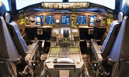 Jet Flight Simulator Experience: 30 $109 or 60 Minutes $165 at Jet Flight Simulator Canberra Up to $330 Value