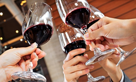 Wine-Tasting Class and Appetizers for One, Two, or Four at WineUp on Williams (Up to 72% Off)