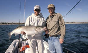 Fish Tales Guide Service: $249 for a Four-Hour Fishing Trip for Up to Four from Fish Tales Guide Service ($400 Value)