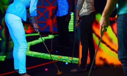 Mini Golf Package for Two or Four at My Three Sons Family Fun Center (Up to 53% Off). Four Options Available.