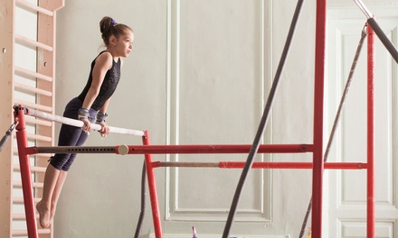One Month of Gymnastics Beginner classes for One or Two, No Registration Fee at Elite Gymnastics (Up to 60% Off)