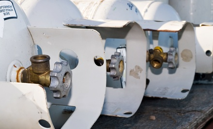 One or Two 20-Pound Propane-Tank Fills at The Propane Guys (Up to 50% Off)