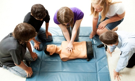Three-Hour CPR and First Aid Course for One or Two at Simpkins Security Group, LLC (Up to 53% Off)