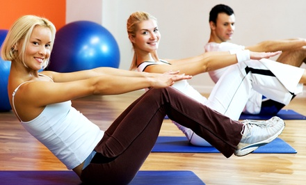 One- or Three-Month Gym Membership with One-Hour Orientation at Basics Fitness Center (Up to 66% Off)