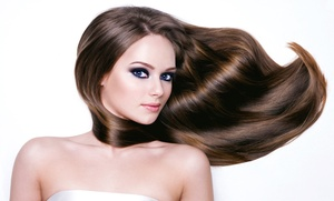 Salon Von De Beauty Bar: $110 for a LASIO Mocha Silk Keratin Treatment at Salon Von De Beauty Bar ($350 Value)