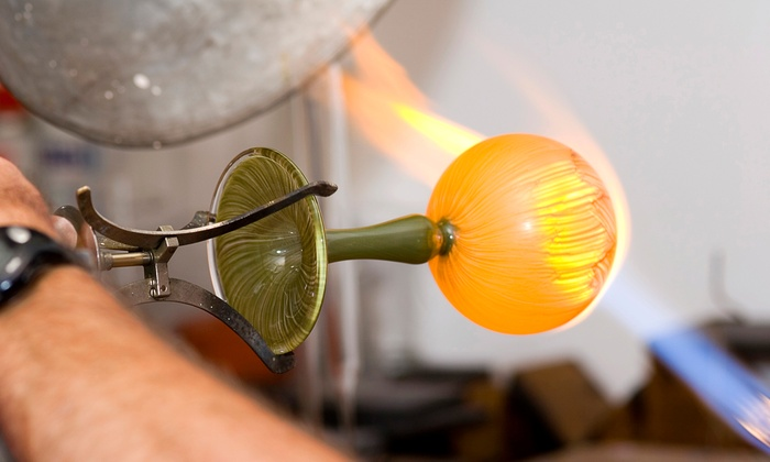 The Glass Station - The Glass Station: Glassblowing Class with Eben Horton at The Glass Station, July 11–25 (Up to 0% Off)