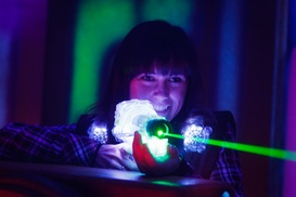 Q-Zar Laser Tag: Three Laser-Tag Games or Unlimited Game Pass at Q-Zar Laser Tag (Up to 59% Off)