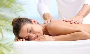Massoterapia Superti: Uno o 3 massaggi antistress, anticellulite o decontratturanti (sconto fino a 70%)