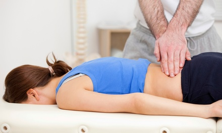 $41for a Chiropractic Exam, Adjustment, and 60-Minute Massage at Rebound Chiropractic ($180 Value)