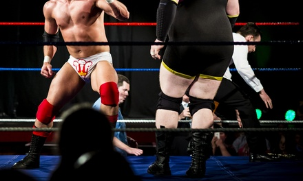 Wrestling Match for Two or Four from Global Wrestling Alliance (Up to 52% Off). Three Dates Available.