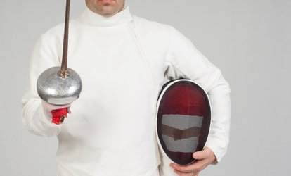 image for Four-Week Fencing Course or Eight Flexible Lessons at Blades Club (Up to 86% Off)