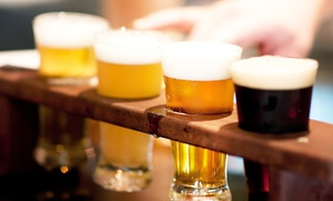 Hollywood Roadhouse: $23for Two Beer Flights, One Appetizer, and Two Craft Flight Glasses at Hollywood Roadhouse ($40)