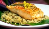 Boneheads CLOSED - University Area Neighborhood Association: $19 for Two-Course Seafood Dinner for Two at Boneheads ($31.96 Value)