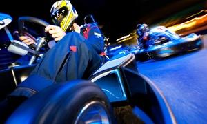 A.S.D. MOTORISTICA D.B.M. RACE: Corsa in go-kart per una o 2 persone o Gran Premio per 8 persone da A.S.D. Motoristica D.M.B. Race