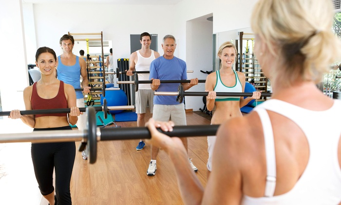PLX Fit Club - Portage Lakes: One or Three Months of Unlimited Fitness Classes or 10 Drop-In Classes at PLX Fit Club (Up to 52% Off)