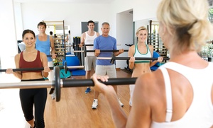 PLX Fit Club: One or Three Months of Unlimited Fitness Classes or 10 Drop-In Classes at PLX Fit Club (Up to 60% Off)