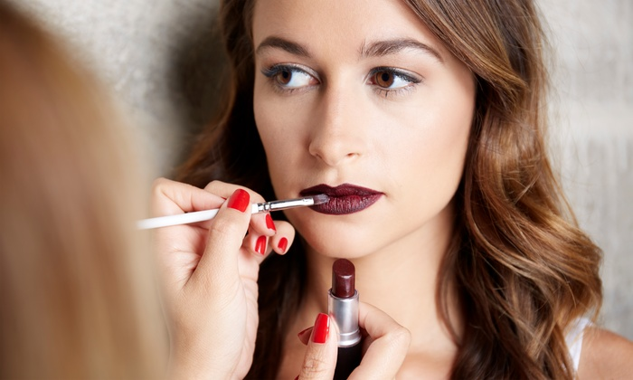 Flavi Make-up Studio - Danbury: Enhance Your Features During a Makeup Lesson with Application from Flavi Makeup Artist