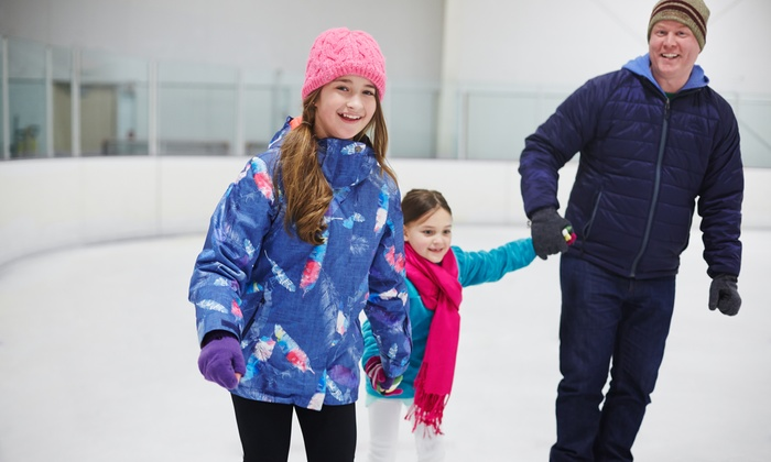 Floyd Hall Arena - Floyd Hall Arena: Ice-Skating for Two, Four, or Six with Skate Rental at Floyd Hall Arena (Up to 60% Off)