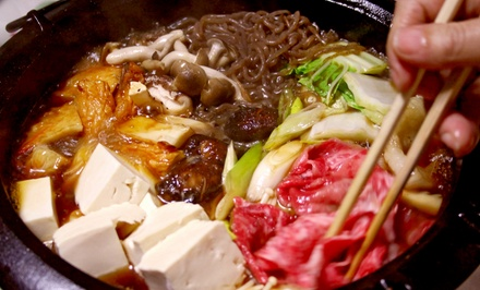 $15 for an Asian Hot Pot Dinner for Two or More People at The Flame ($25 Value)