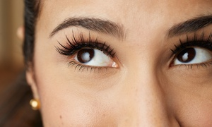 Keico's Eyelash: Full Set of Silk Eyelash Extensions with Optional Fill at Keico's Eyelash (Up to 53% Off)