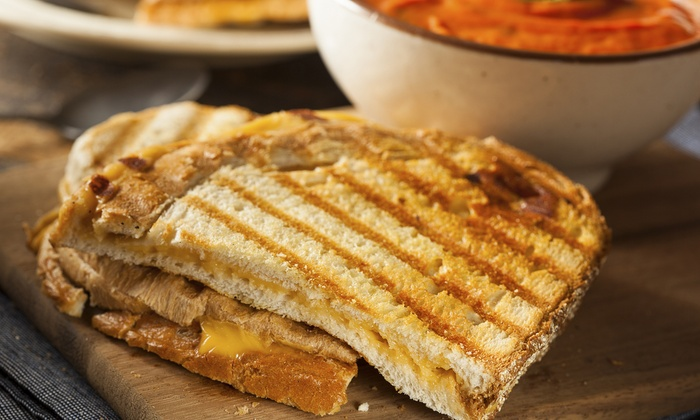 The Cheesy Chick - The Cheesy Chick: Two or Four Groupons, Each Good for $10 Worth of Gourmet Grilled Cheese from The Cheesy Chick (40% Off)