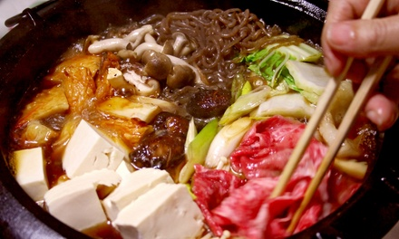 Spring Hot-Pot Dinner or Ramen Hot-Pot Lunch for Two or Four at Posh Restaurant (Up to 59% Off)