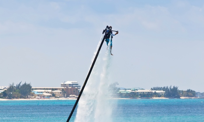 Prairie Pirates Watersports - Sylvan Lake: 30- or 60-Minute Jetpack Ride for One or 60-Minutes for Two from Prairie Pirates Watersports (Up to 52% Off)