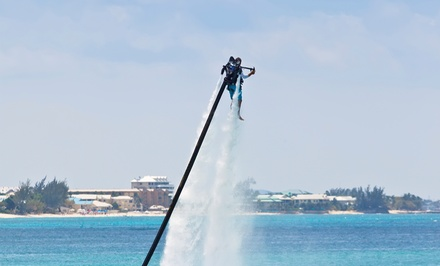 30- or 60-Minute Jetpack Ride for One or 60-Minutes for Two from Prairie Pirates Watersports (Up to 52% Off)
