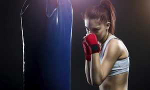 TITLE Boxing Club: Two Weeks of Boxing and Kickboxing Classes for One or Two with Hand Wraps at TITLE Boxing Club (Up to 75% Off)
