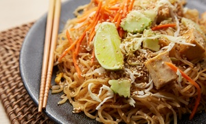 Pan Asia: Two Course Pan-Asian Meal for Two or Four at Pan Asia (Up to 44% Off)